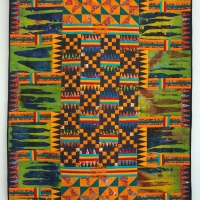Kente Cloth from Ghana #1