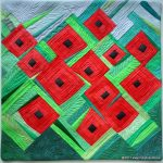 Making Poppies quilt